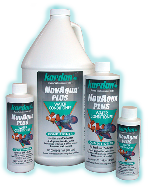 Novaqua plus kordon for How to make tap water safe for fish without conditioner
